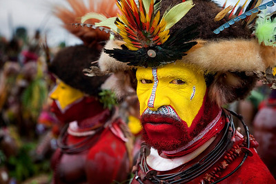 Wigman Tribe of PNG