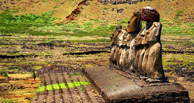 Great Moari's of Easter Island