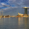 Sunset on Marina Bay