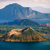Taal Lake Philippines : I recently spent 2 weeks in Manila and took the weekend to go to Taal Lake, south of Manila about an 2 hour drive.  Although the volcano is still considered active, this mountain supports multiple cones within the lake.   While I was there, they also had a couple of weddings at the hotel I was staying at.