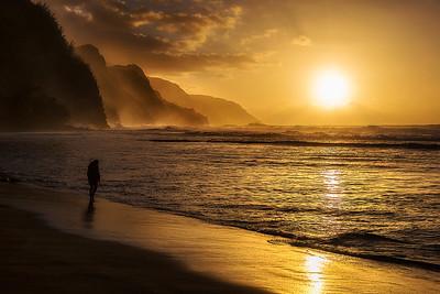 North Beach of Kaui