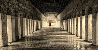 Walkway from Temples