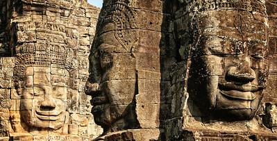 Bayon at Ankgor Wat